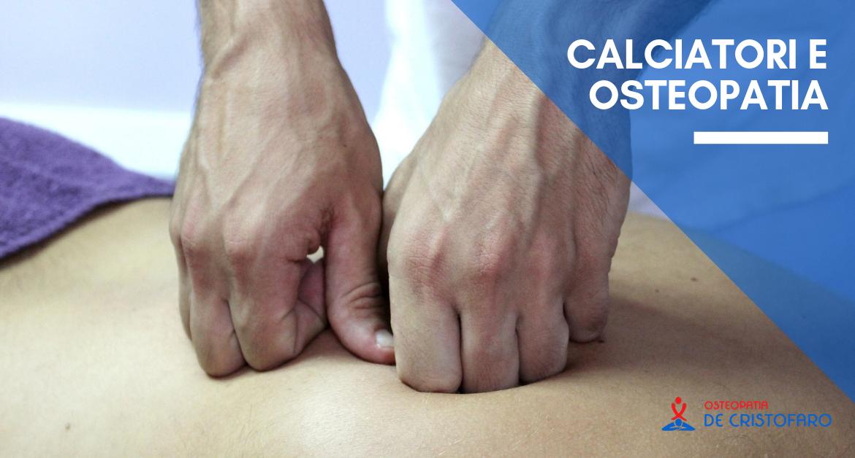 Calciatori e Osteopatia